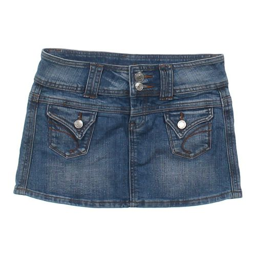 rue21 Denim Skirt in size JR 0 at up to 95% Off - Swap.com
