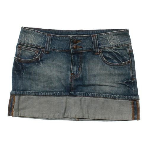 Wet Seal Denim Skirt in size JR 3 at up to 95% Off - Swap.com