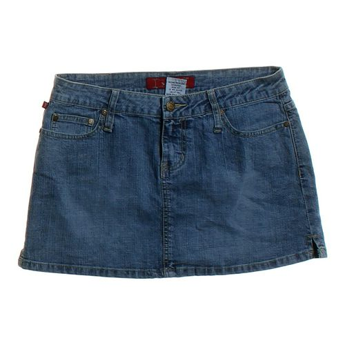 YMI Denim Skirt in size JR 7 at up to 95% Off - Swap.com