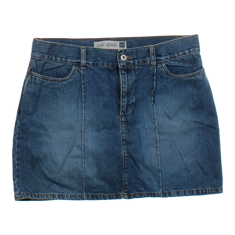 gap denim skirt consignment