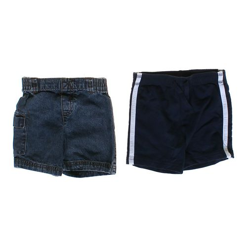 Circo Denim & Striped Shorts Set in size 24 mo at up to 95% Off - Swap.com