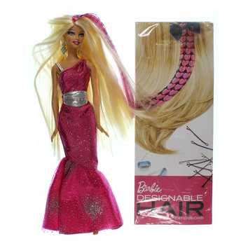 Designable Barbie W/Hair Extensions for Sale on Swap.com