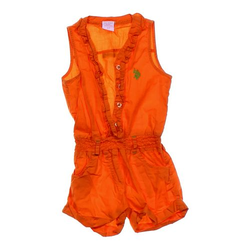 U.S. Polo Assn. Designer Romper in size 4/4T at up to 95% Off - Swap.com