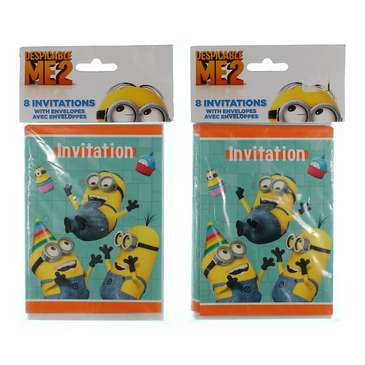 Despicable Me 2 Invitations for Sale on Swap.com