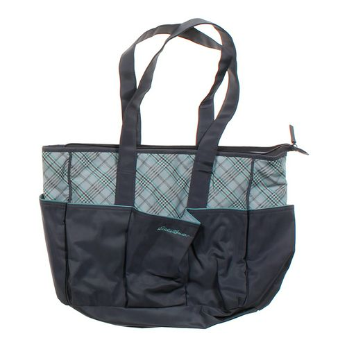 grey eddie bauer diaper bag in size at up to 95 off. Black Bedroom Furniture Sets. Home Design Ideas