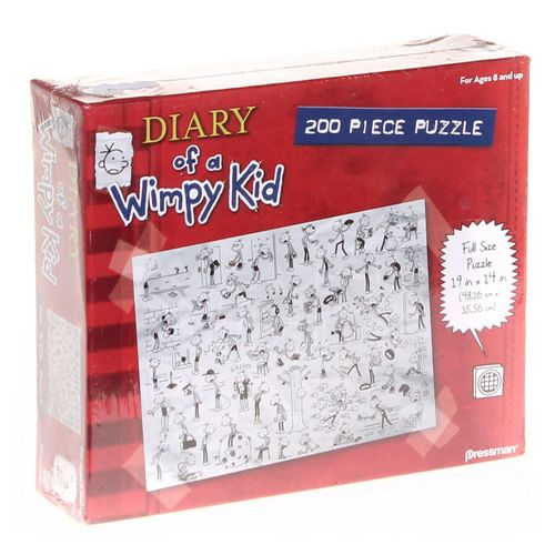 Pressman Toy Diary of a Wimpy Kid: Book Three 200 Piece Jigsaw Puzzle at up to 95% Off - Swap.com