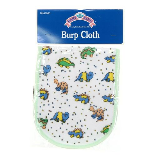 Baby King Dinosaur Burp Cloth at up to 95% Off - Swap.com
