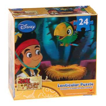 Disney Jake and the Neverland Pirates Lenticular Puzzle (Blue) Party Accessory Puzzle for Sale on Swap.com