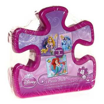 Disney Princess 3 Puzzle Pack Puzzle for Sale on Swap.com