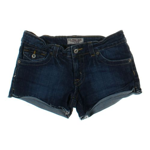 U.S. Polo Assn. Distressed Denim Shorts in size JR 7 at up to 95% Off - Swap.com