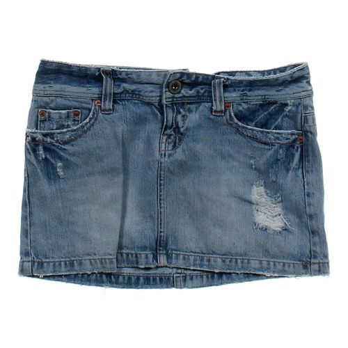 American Eagle Outfitters Distressed Denim Skirt in size 4 at up to 95% Off - Swap.com