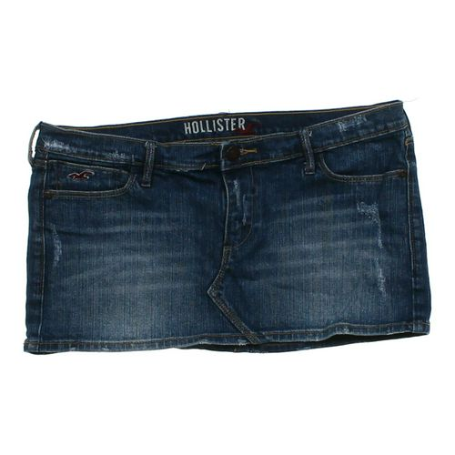 Hollister Distressed Denim Skirt in size JR 1 at up to 95% Off - Swap.com