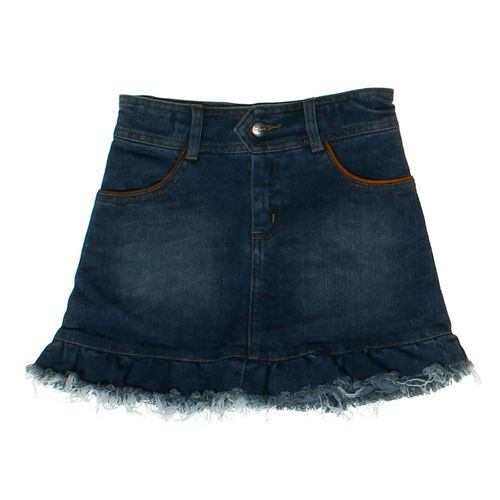 Loan Bor Distressed Denim Skirt in size 6 at up to 95% Off - Swap.com