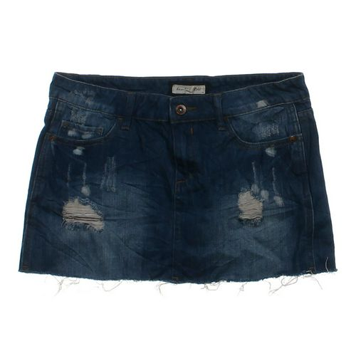 Heritage Distressed Denim Skirt in size 2 at up to 95% Off - Swap.com
