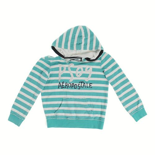 P.S. from Aéropostale Distressed Logo Hoodie in size 10 at up to 95% Off - Swap.com