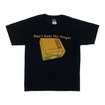 """Don't Hate The Player"" Graphic Tee for Sale on Swap.com"