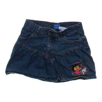 Dora & Boots Denim Skort for Sale on Swap.com