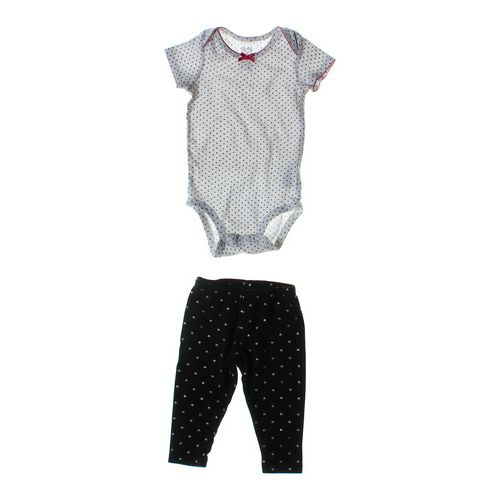Child of Mine Dotted Bodysuit & Pants Set in size 6 mo at up to 95% Off - Swap.com