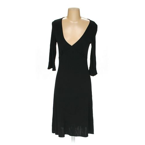 Banana Republic Solid Other Dress Size S Black