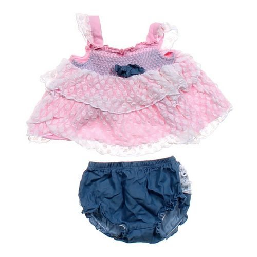 Little Lass Dress & Bloomers in size 3 mo at up to 95% Off - Swap.com