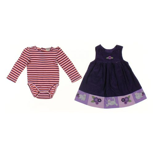 Cherokee Dress & Bodysuit Set in size 18 mo at up to 95% Off - Swap.com
