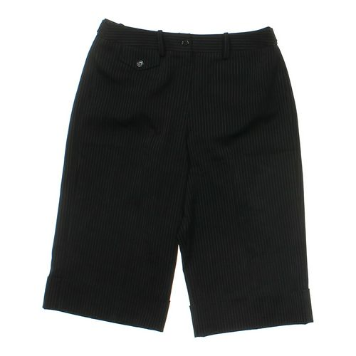 Larry Levine Dress Capri Pants in size 8 at up to 95% Off - Swap.com