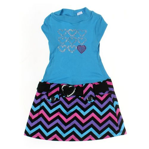 Pink & Violet Dress in size 4/4T at up to 95% Off - Swap.com