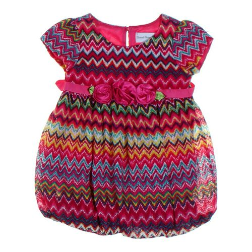 Sweet Heart Rose Dress in size 3/3T at up to 95% Off - Swap.com