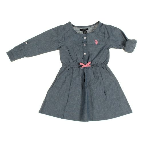 U.S. Polo Assn. Dress in size 4/4T at up to 95% Off - Swap.com