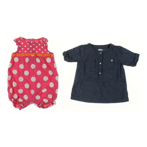 Carter's Dress & Romper Set in size 6 mo at up to 95% Off - Swap.com