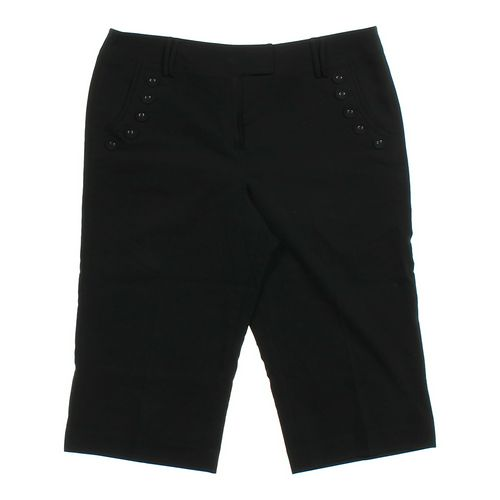 Larry Levine Dressy Capri Pants in size 8 at up to 95% Off - Swap.com