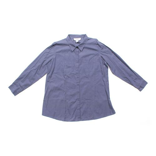 Motherhood Maternity Dressy Maternity Shirt in size L (12-14) at up to 95% Off - Swap.com