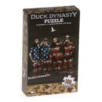 Duck Dynasty 300 Piece Puzzle for Sale on Swap.com