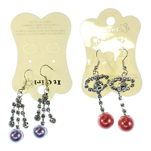 It's a Girl Earrings Set at up to 95% Off - Swap.com