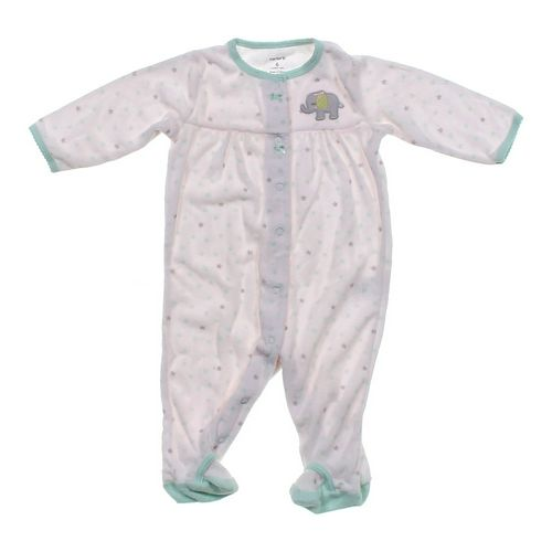 Carter's Elephant Footed Pajamas in size 6 mo at up to 95% Off - Swap.com
