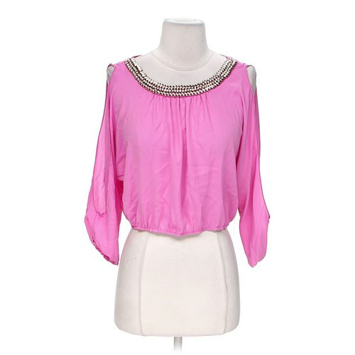 Body Central Embellished Blouse in size M at up to 95% Off - Swap.com