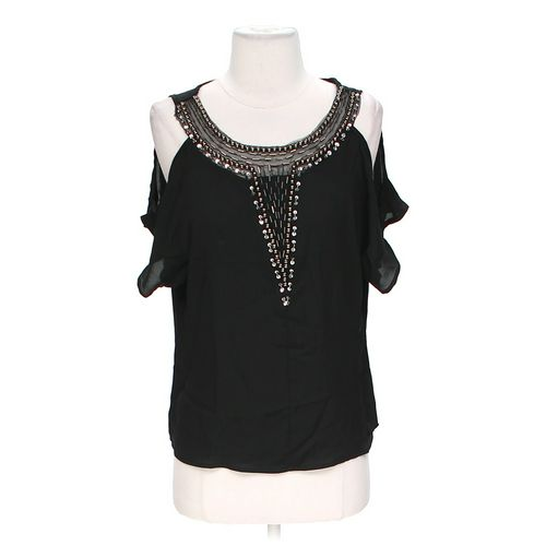 Body Central Embellished Blouse in size S at up to 95% Off - Swap.com