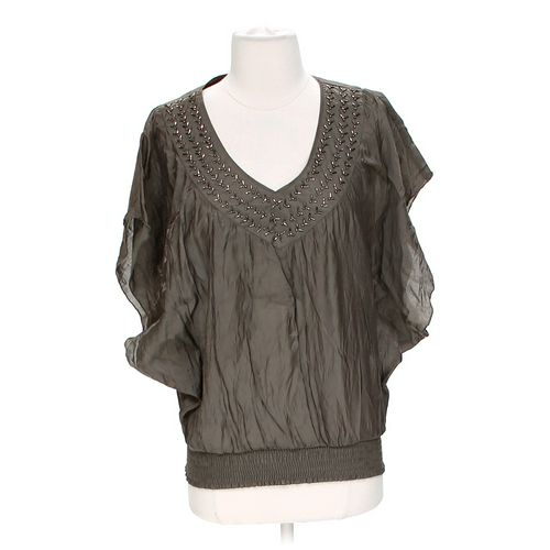 Charlotte Russe Embellished Blouse in size S at up to 95% Off - Swap.com