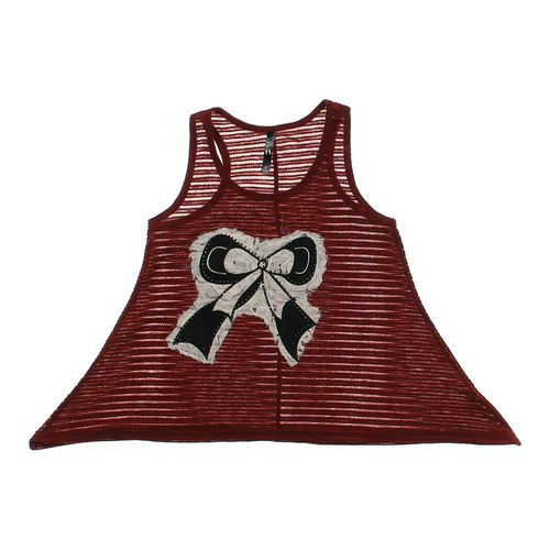 Bear Dance Clothing Embellished Bow Tank Top in size JR 3 at up to 95% Off - Swap.com