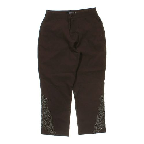 Henny Embellished Capri Pants in size M at up to 95% Off - Swap.com