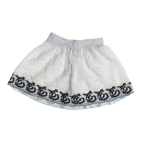 Papaya Embellished Cotton Skirt in size JR 3 at up to 95% Off - Swap.com