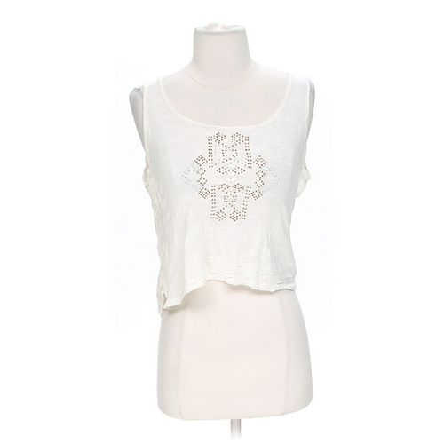 IZ Byer Embellished Cropped Tank Top in size S at up to 95% Off - Swap.com