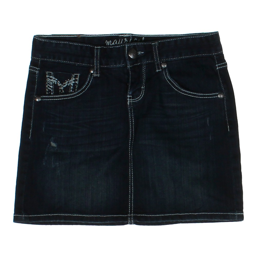 maurices embellished denim skirt consignment
