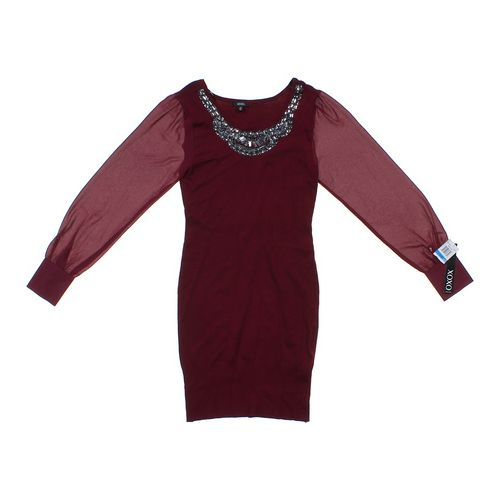 XOXO Embellished Dress in size JR 13 at up to 95% Off - Swap.com