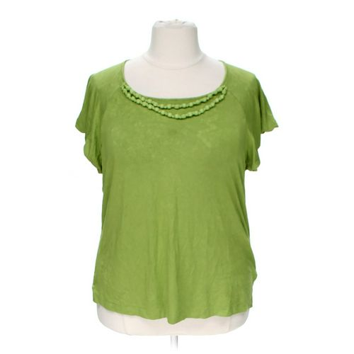 Apostrophe Embellished Shirt in size 20 at up to 95% Off - Swap.com
