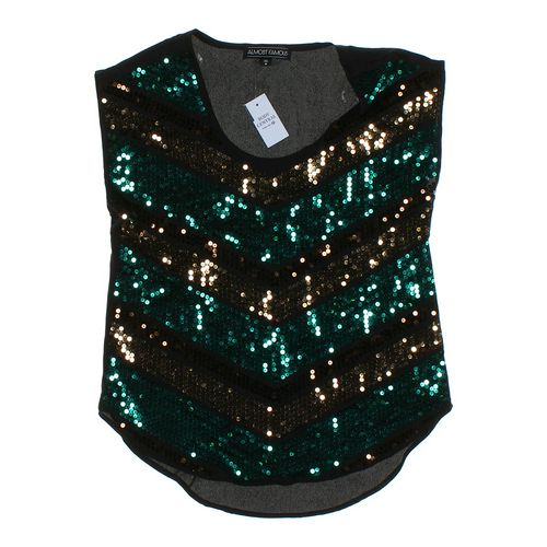 Almost Famous Embellished Shirt in size JR 3 at up to 95% Off - Swap.com
