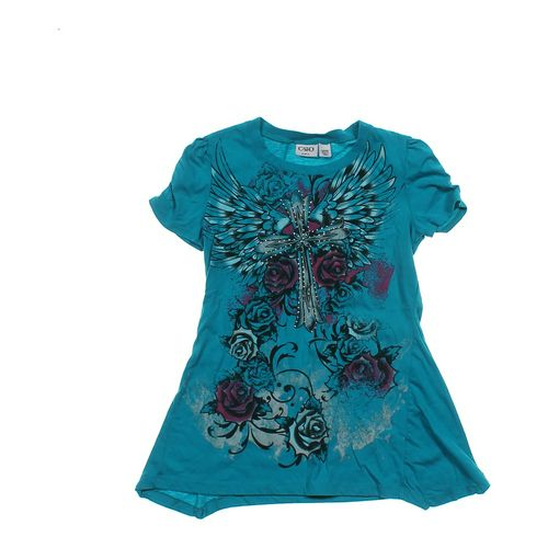 Cato Girls Embellished Shirt in size 12 at up to 95% Off - Swap.com