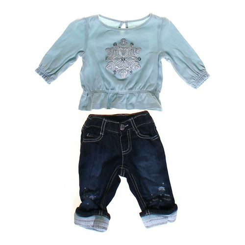 Gymboree Embellished Shirt & Jeans Set in size 3 mo at up to 95% Off - Swap.com