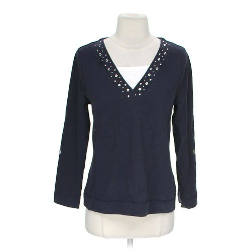 Studio Works Embellished Shirt in size M at up to 95% Off - Swap.com
