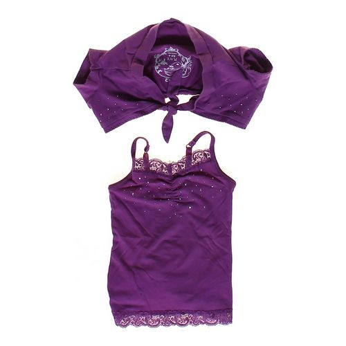 The Children's Place Embellished Shrug & Tank Top Set in size 4/4T at up to 95% Off - Swap.com